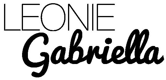 Leonie Gabriella Logo geknipt